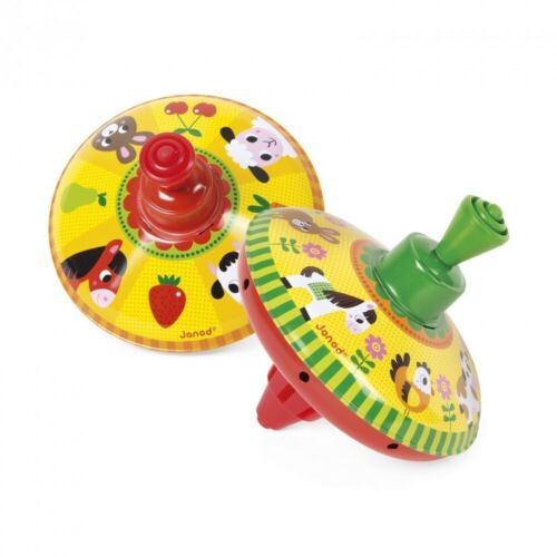 Janod Farm Spinning Top