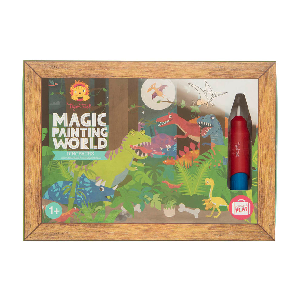 Magic Painting World Dinosaurs