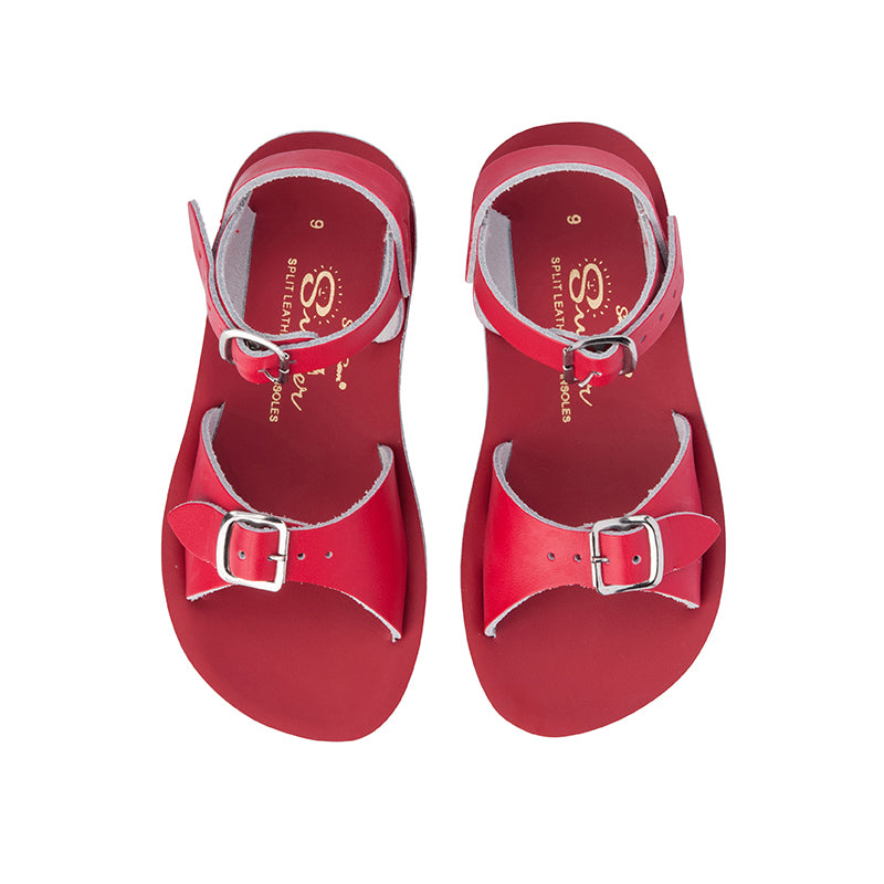 Saltwater Sandal Sun-San Surfer Red