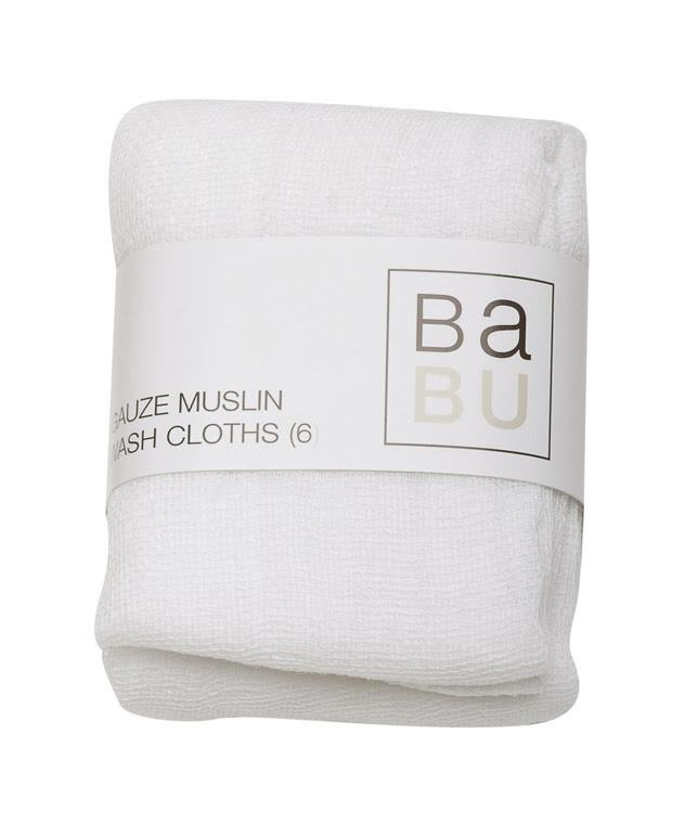 Babu Gauze Muslin Wash Cloths