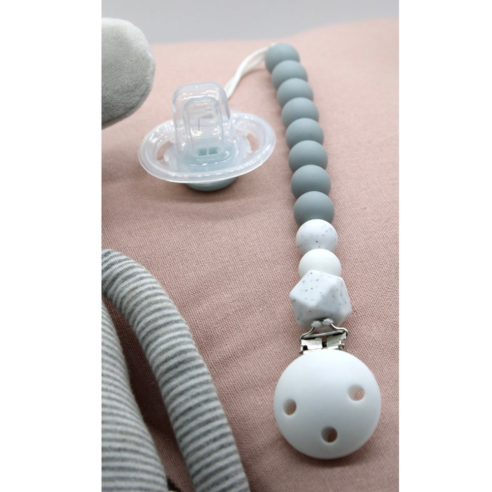 Lulu + Lala Dummy Chain Grey