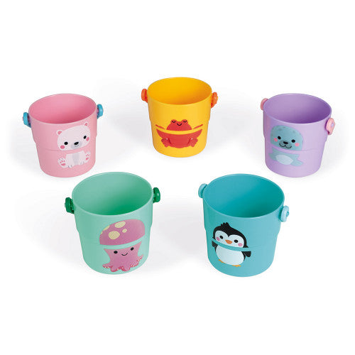 Joanod Five Bath Activity Buckets