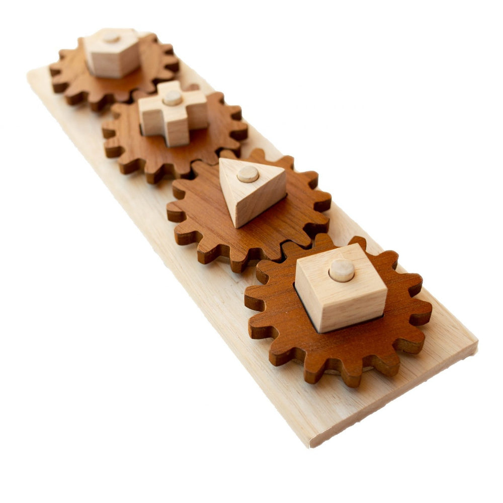 Gear Puzzle Playset