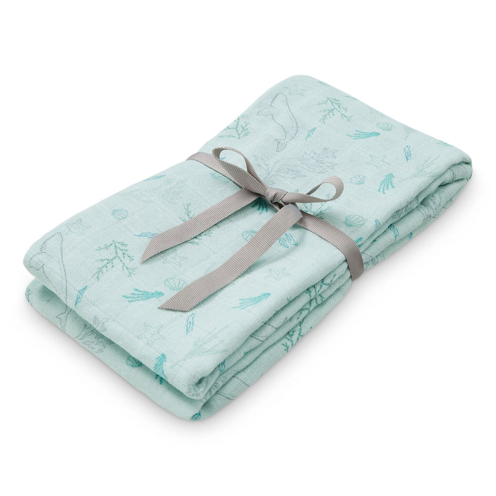 CAM CAM Organic Light Swaddle Ocean