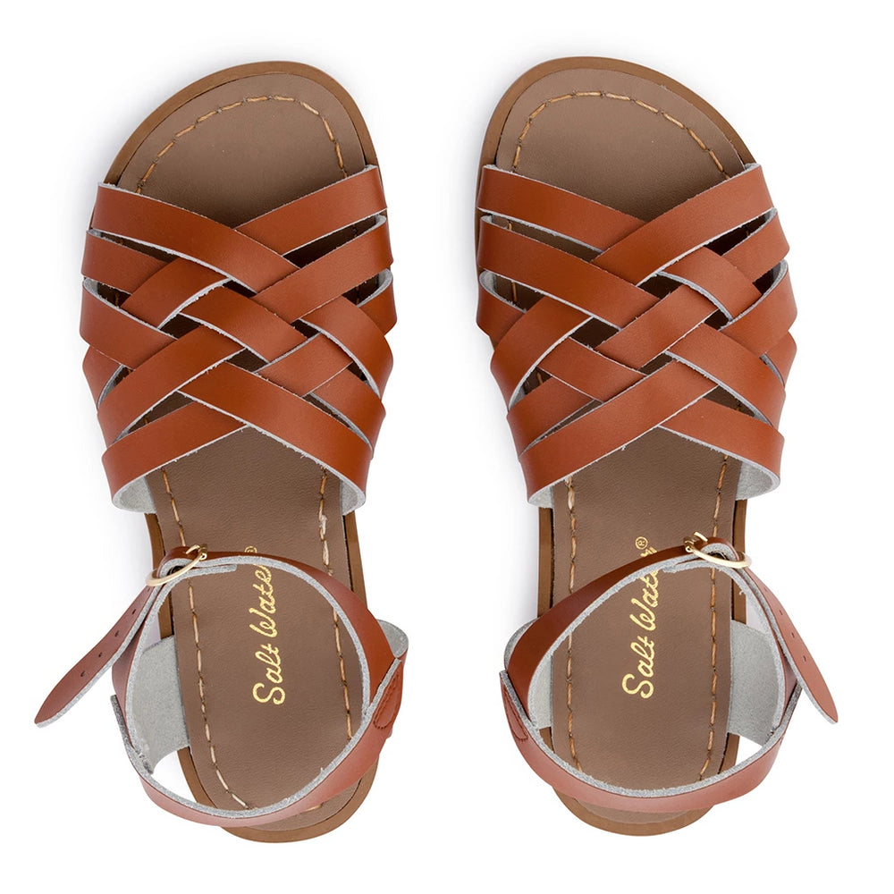 Womens Saltwater Sandal Retro Tan (Last Sizes EU36 & 37)