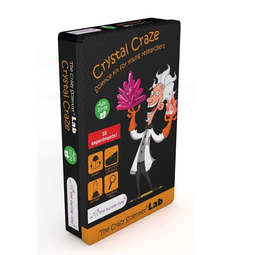 Crazy Scientist Crystal Craze Lab