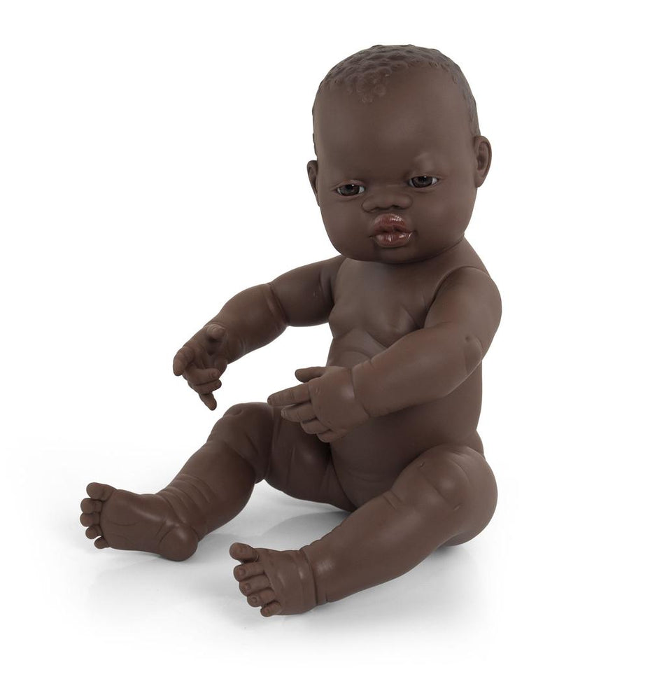 Miniland Anatomically Correct Baby Doll 40cm African Girl