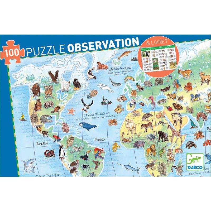 World Animals Puzzle 100pce