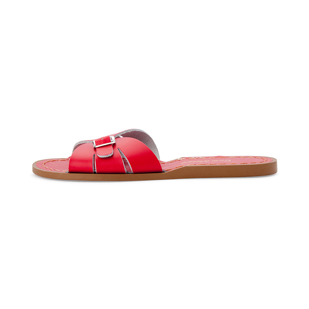Saltwater Sandal Slide Red
