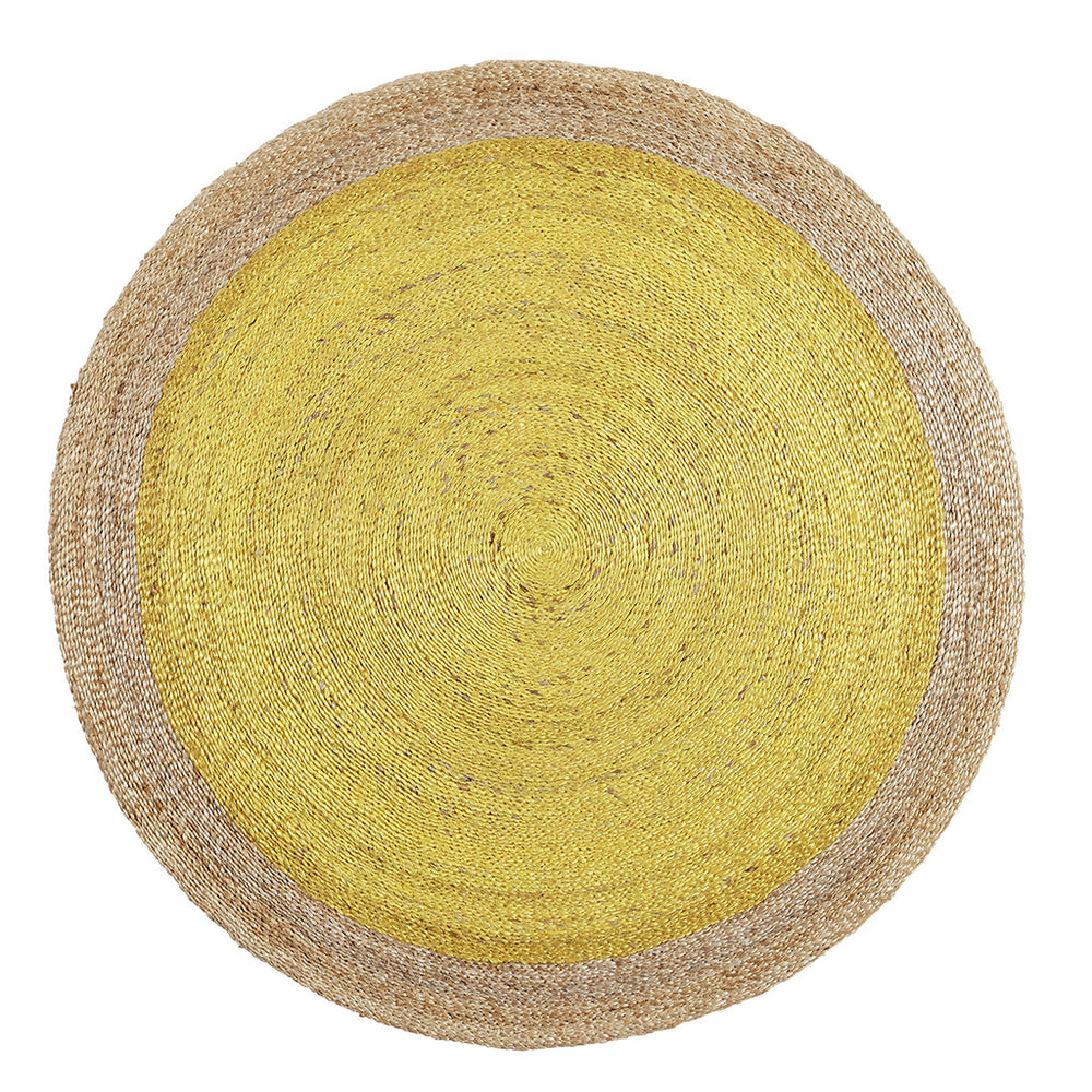 Armadillo & Co Pinwheel Rug Canary