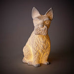 Bone China Scotty Dog Lamp