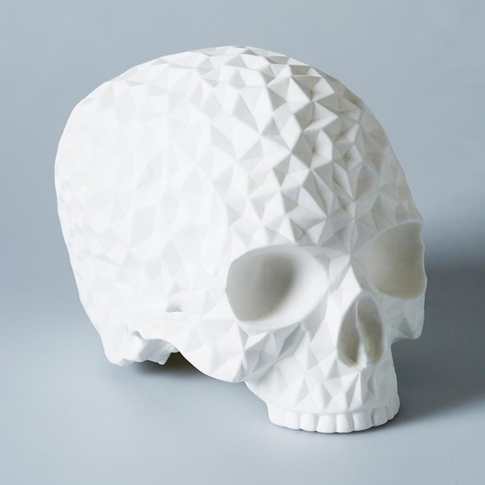 Bone China Prism Skull Lamp