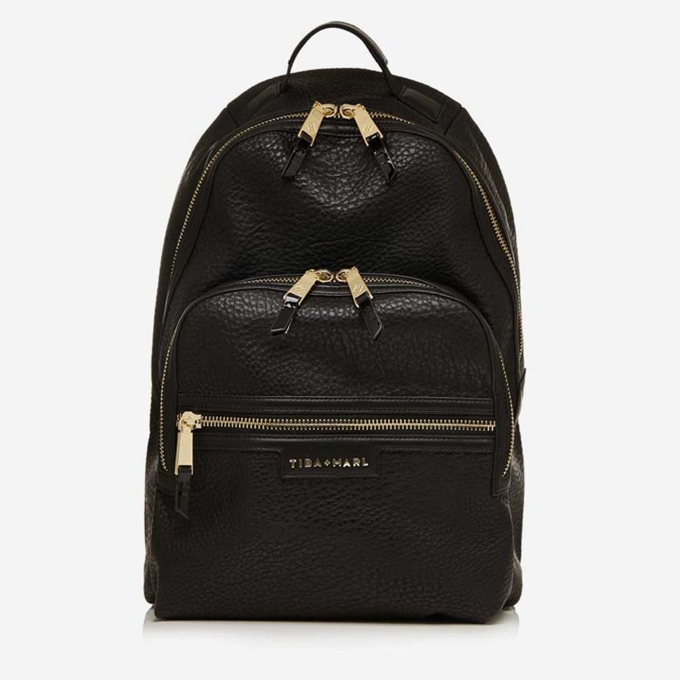 Tiba + Marl Elwood Backpack Black/ Gold