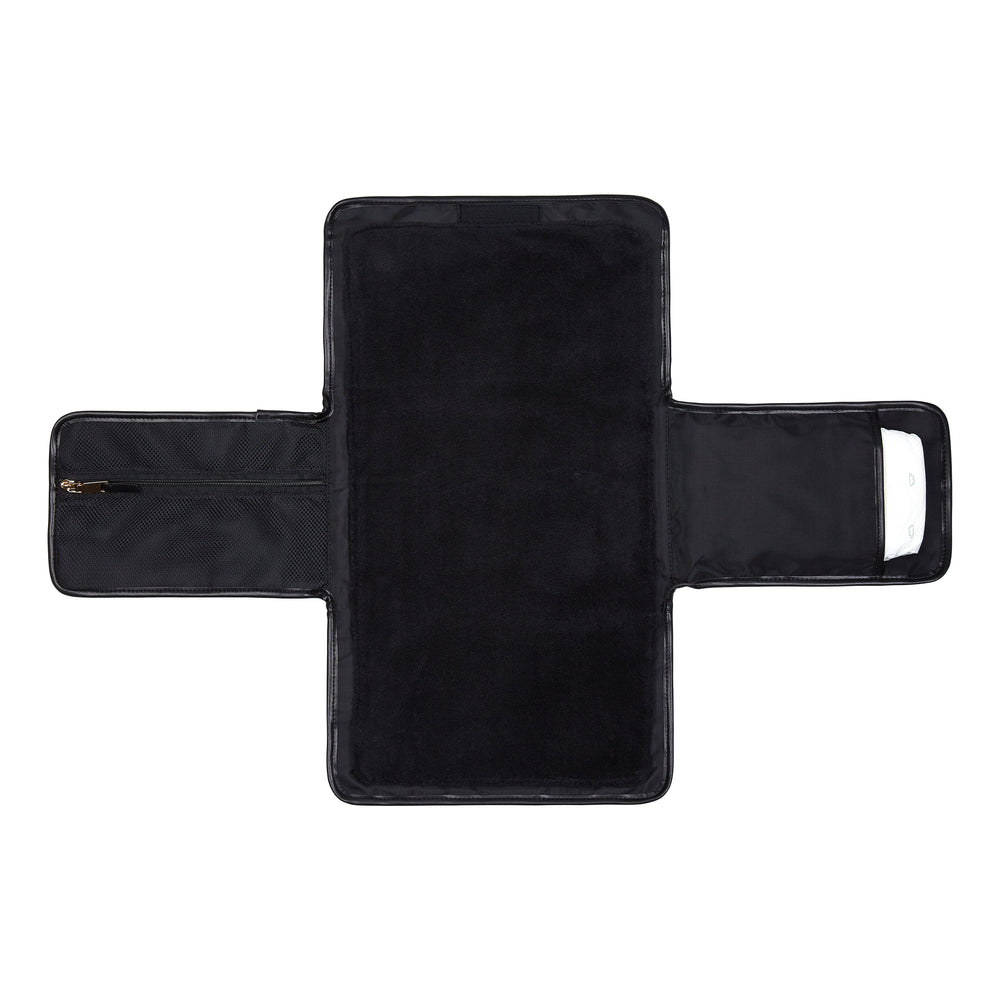 Tiba + Marl Etta Change Clutch Black