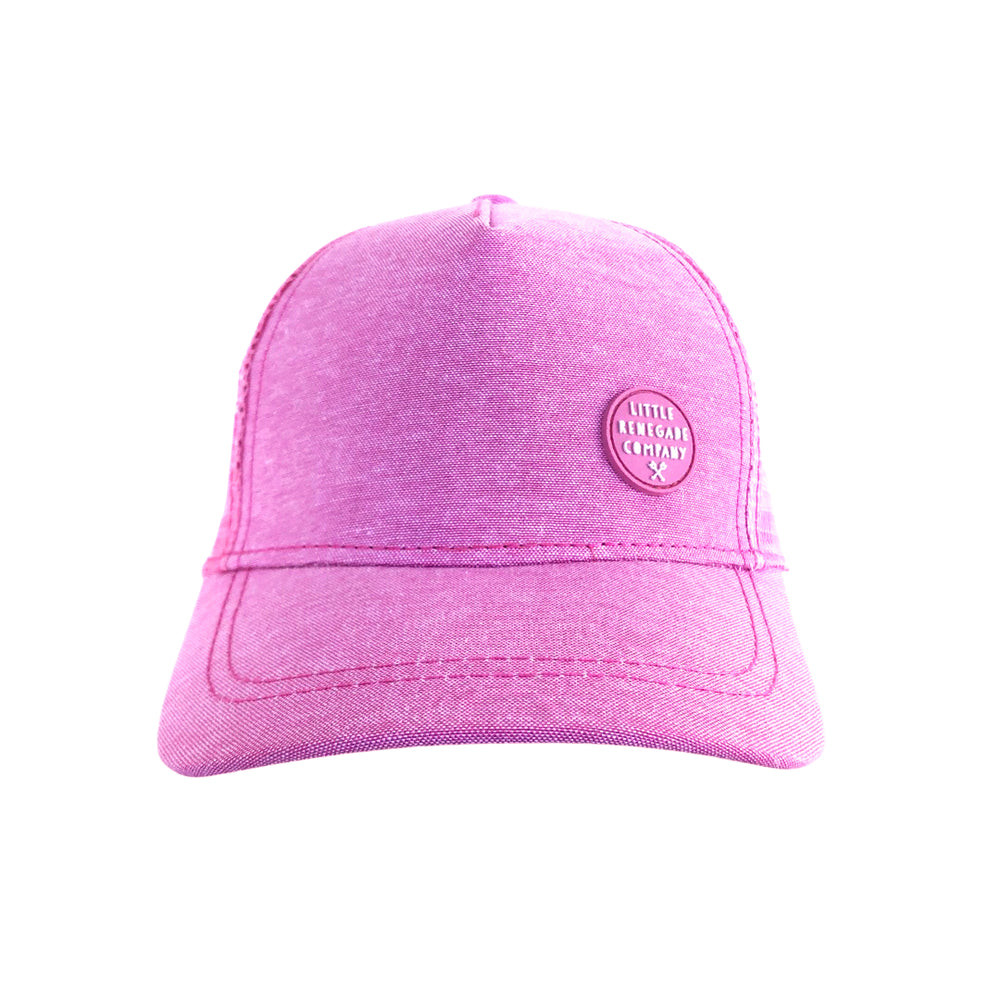 Little Renegade Company Blush Trucker Cap