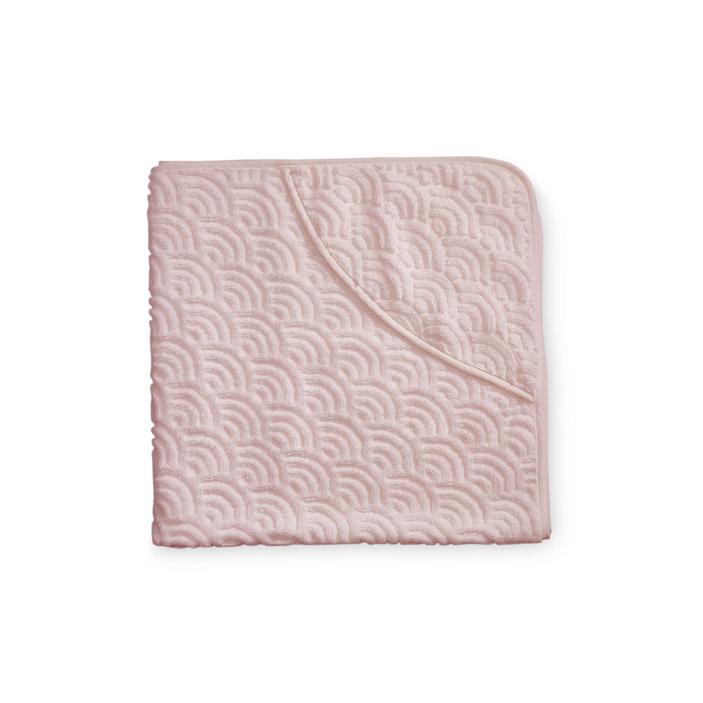 CAM CAM Organic Hooded Baby Towel Rose