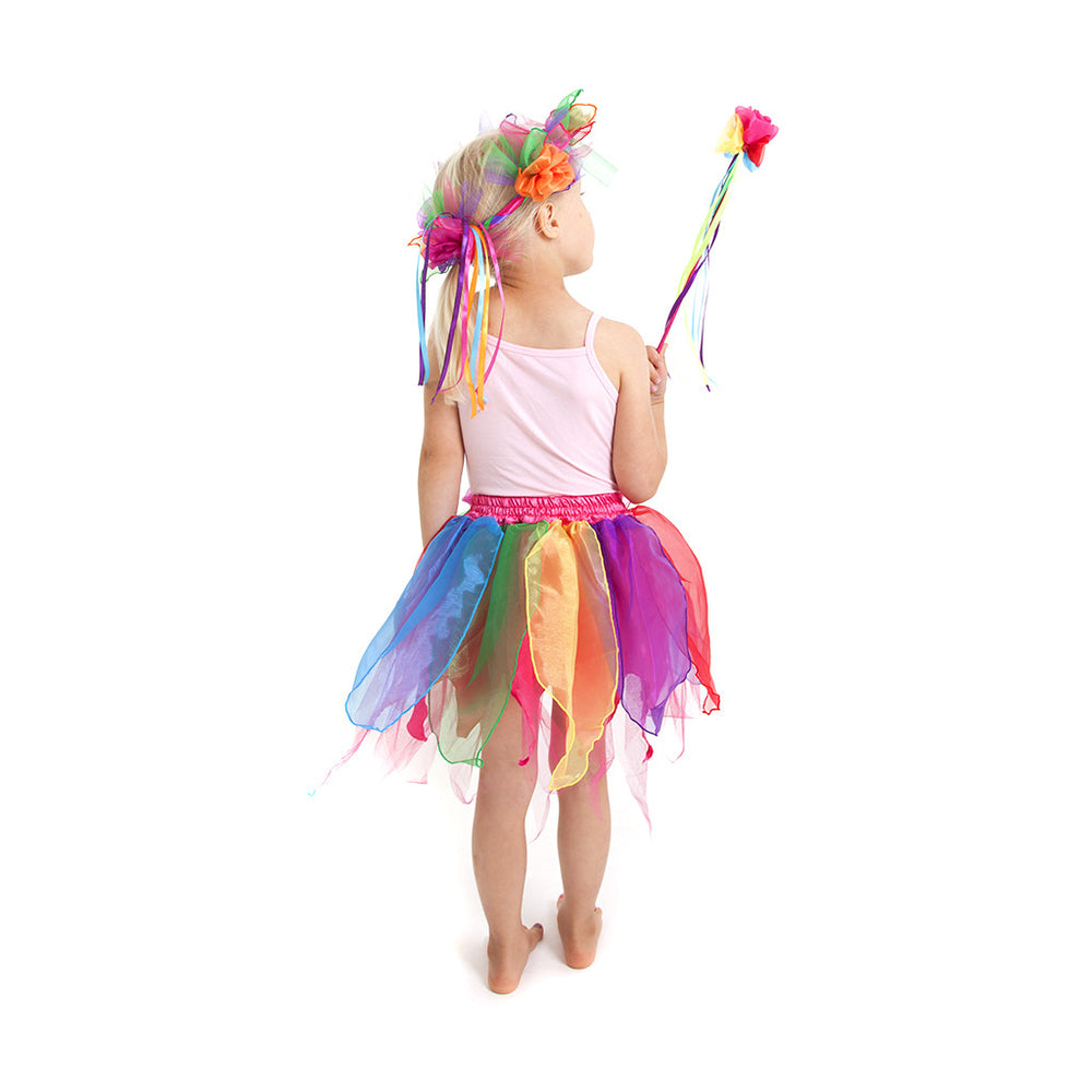 Pixie Skirt Rainbow