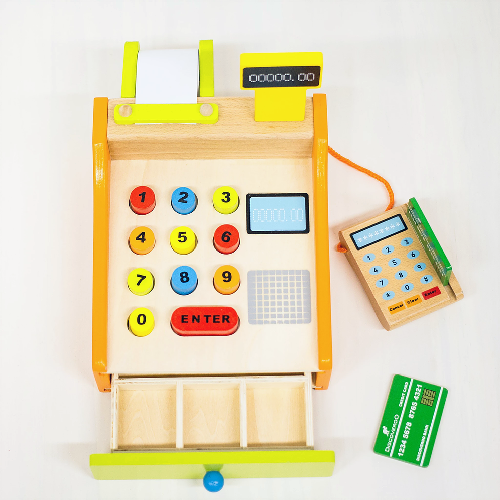Discoveroo Cash Register