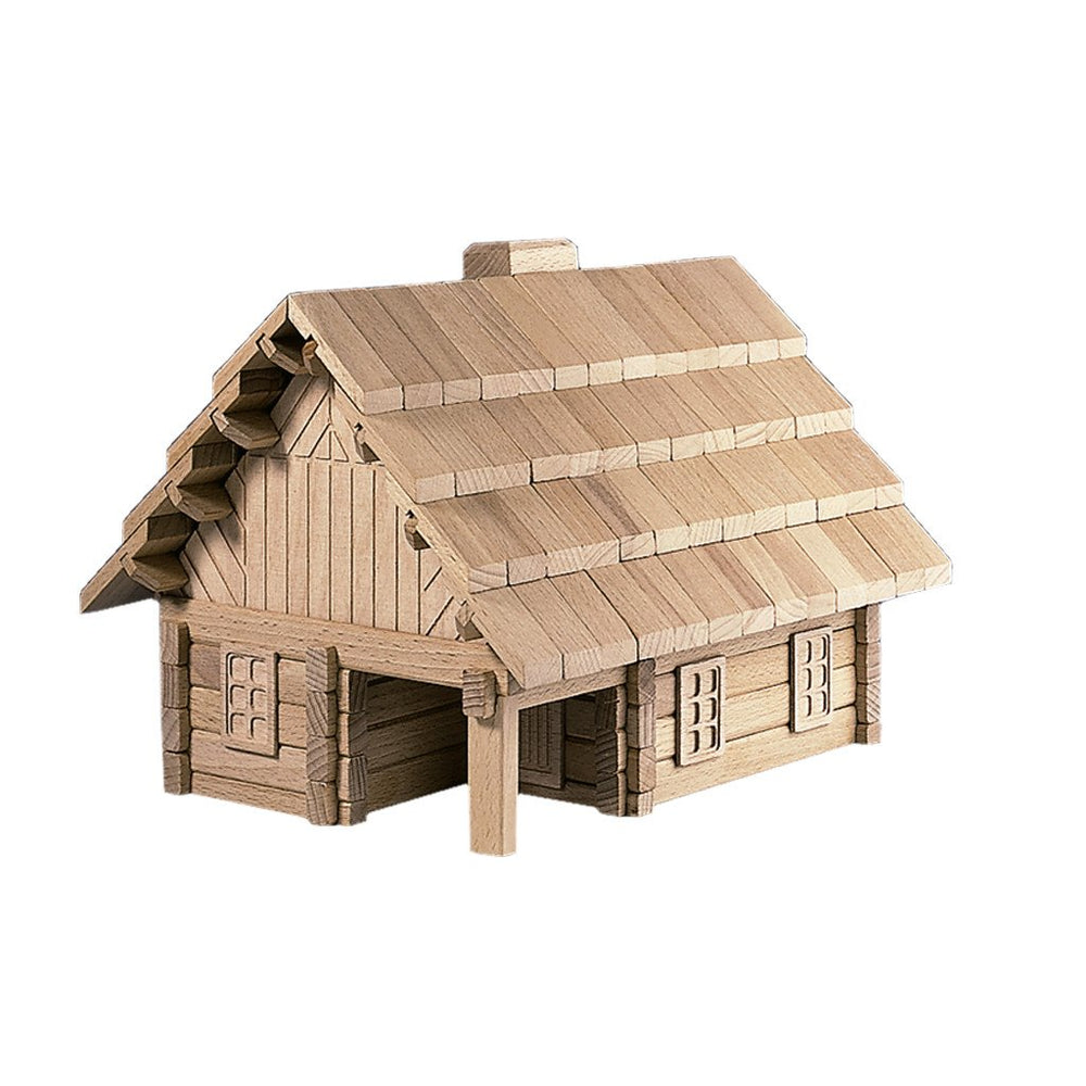 Wooden Building Puzzle The Chalet