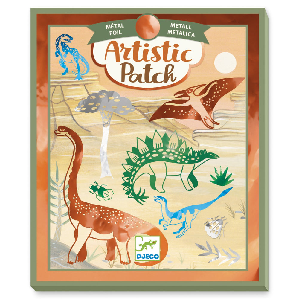 Artistic Patch Dinosaurs