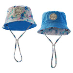 Little Renegade Company Dinoroar Reversible Bucket Hat