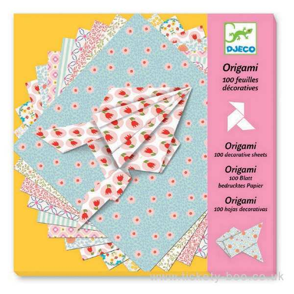 Origami 100 Decorative Sheets
