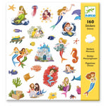 160 Stickers Mermaids