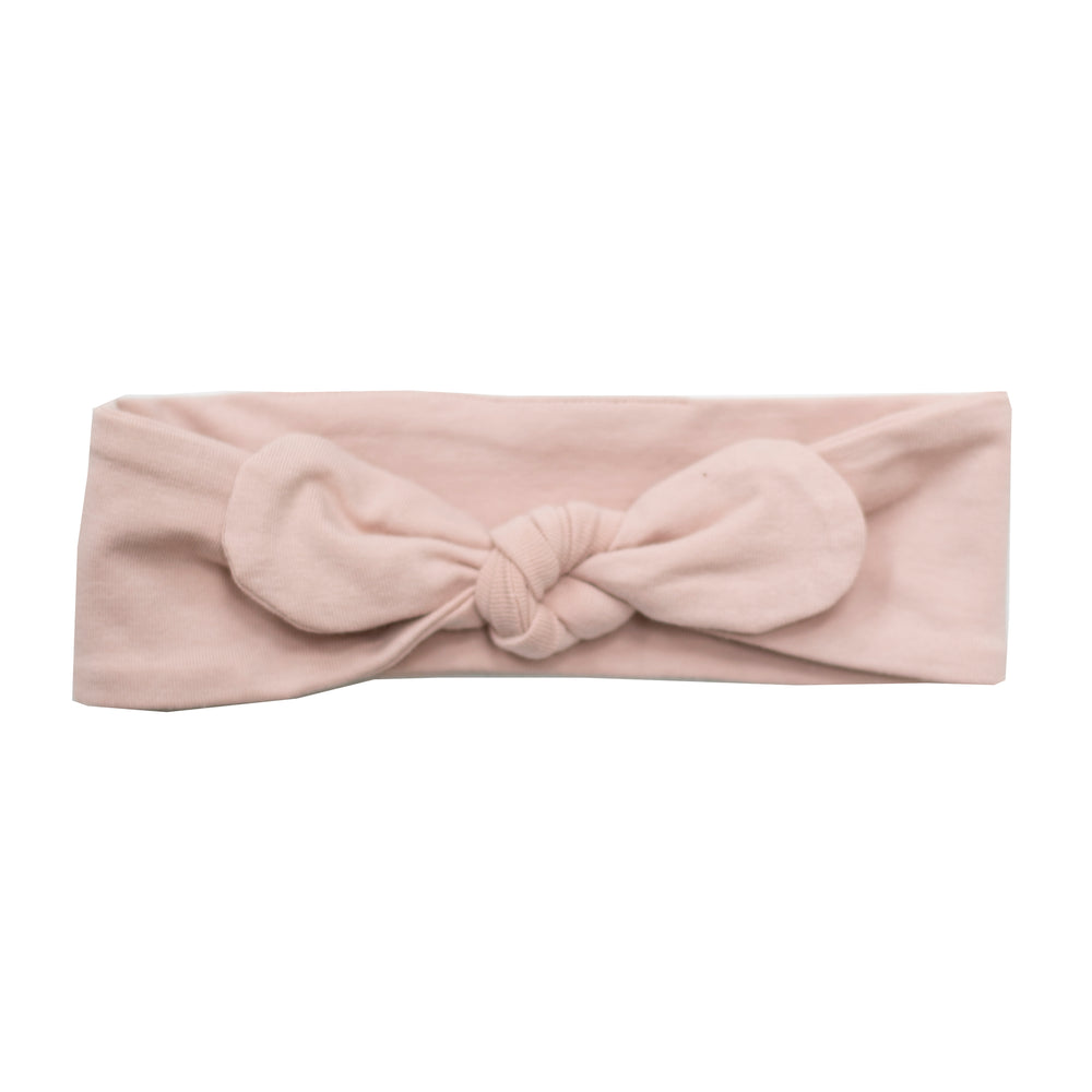 Burrow & Be Top Knot Headband Dusty Rose