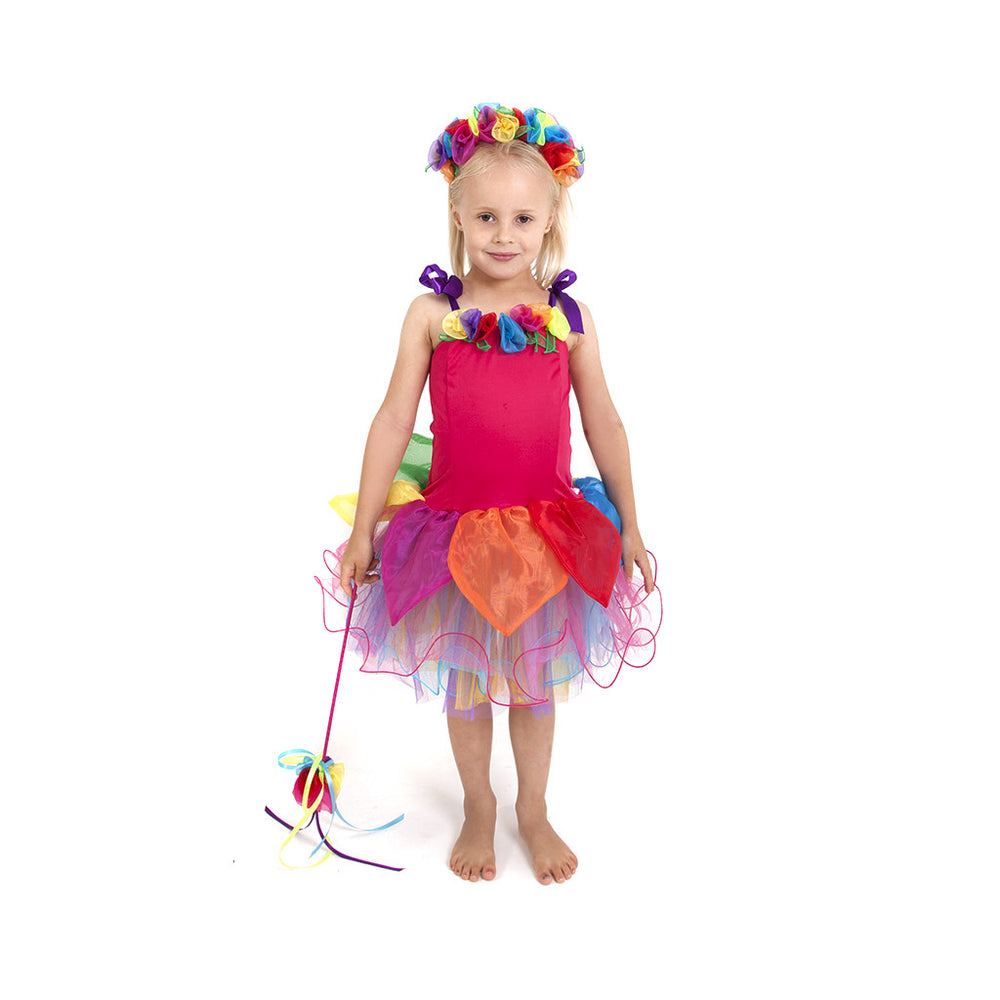 Gumdrop Fairy Dress Rainbow