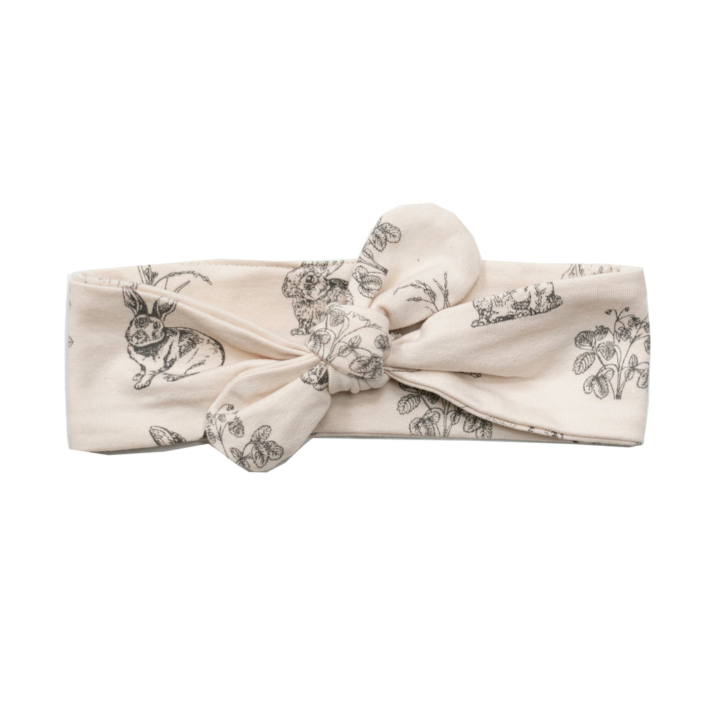 Burrow & Be Top Knot Headband Burrowers Almond