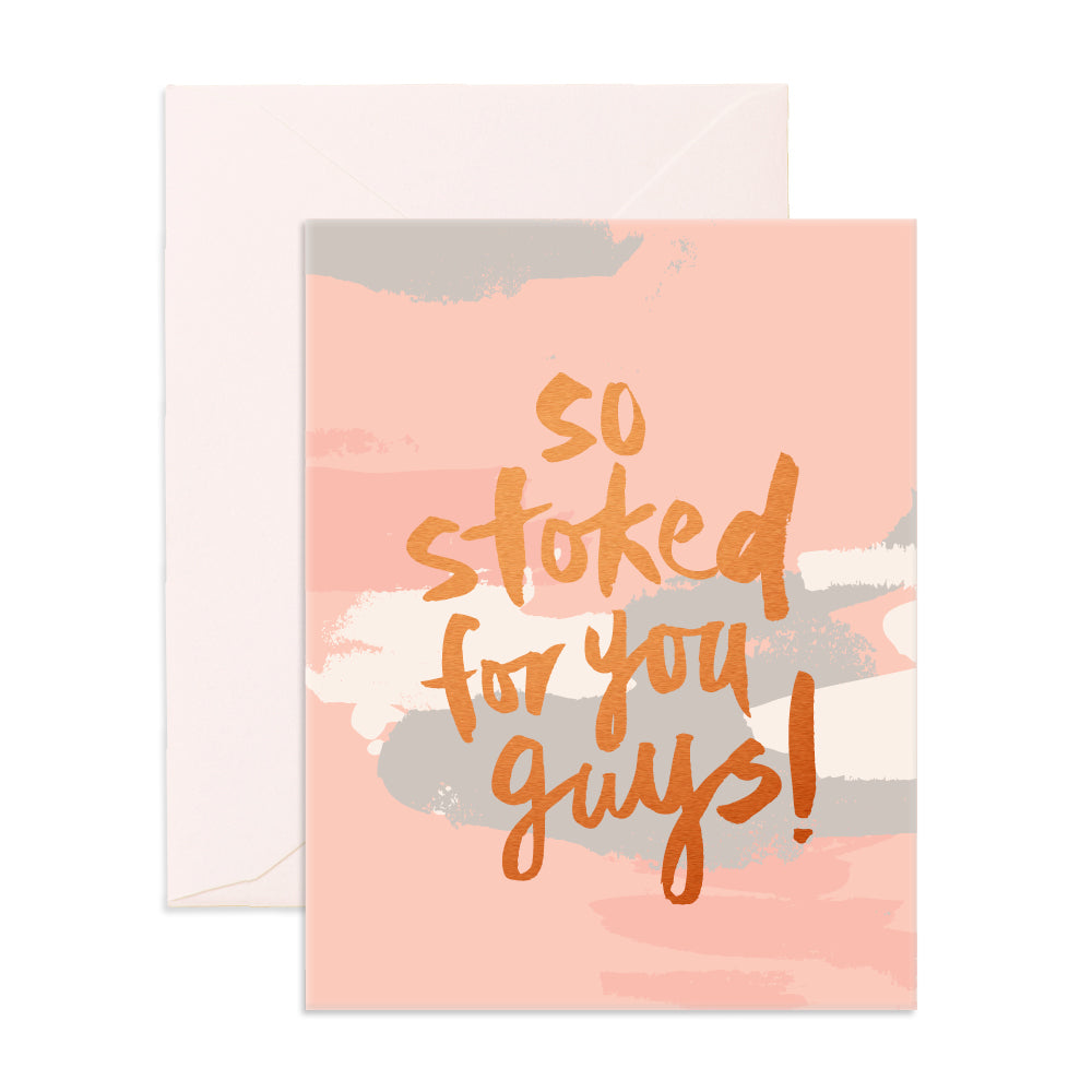 So Stoked Greeting Card