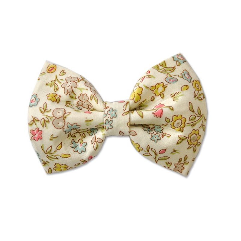 Georgie Single Bow Clip Liberty Danish Floral