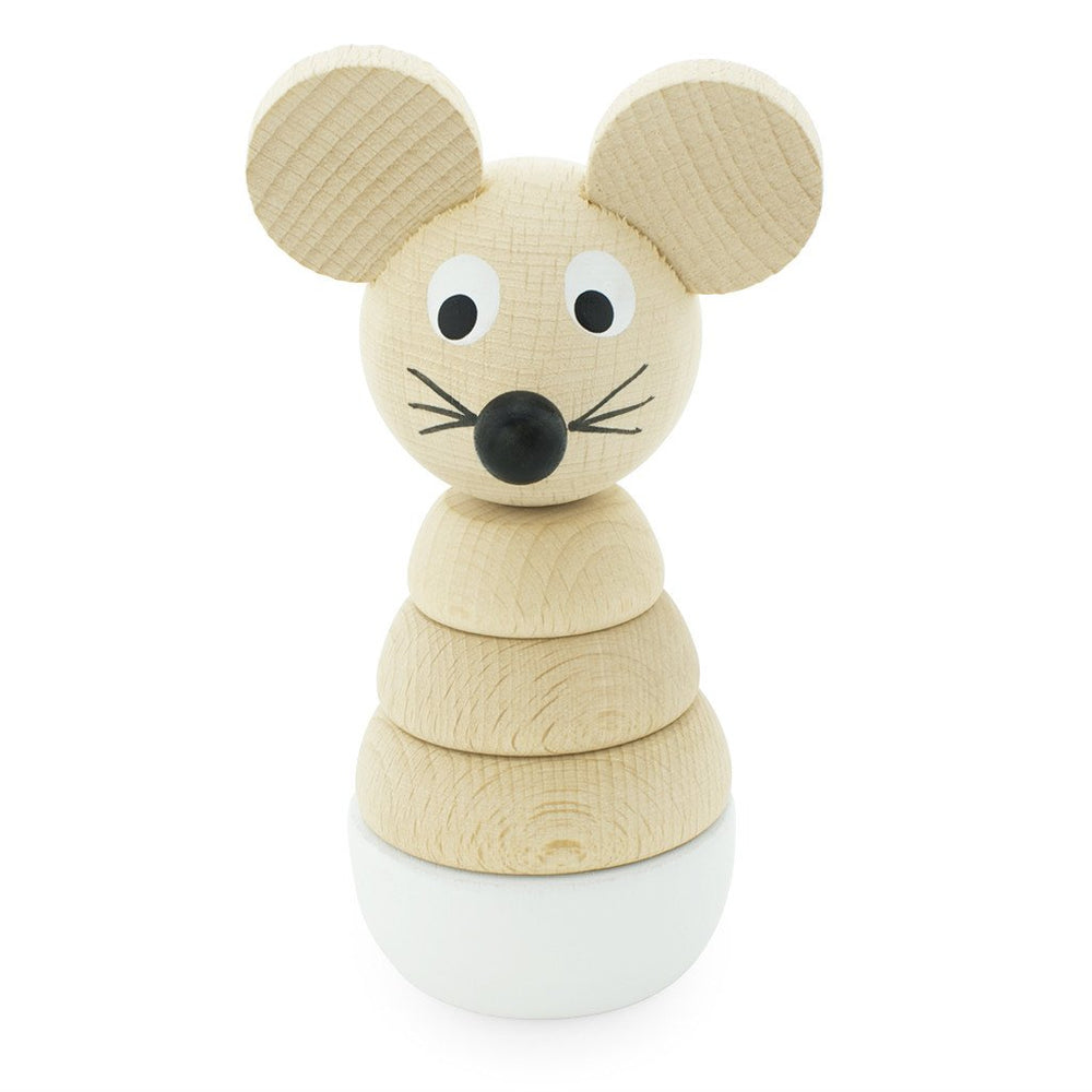 Wooden Mouse Stacking Puzzle Hobbs