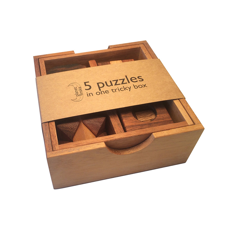 Five Puzzles in a Box