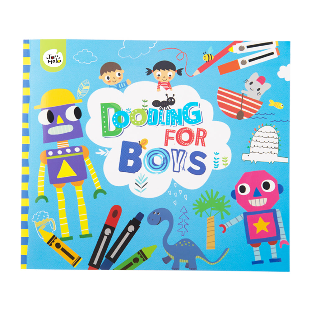 JarMelo Doodling Book For Boys