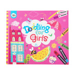 JarMelo Doodling Book For Girls