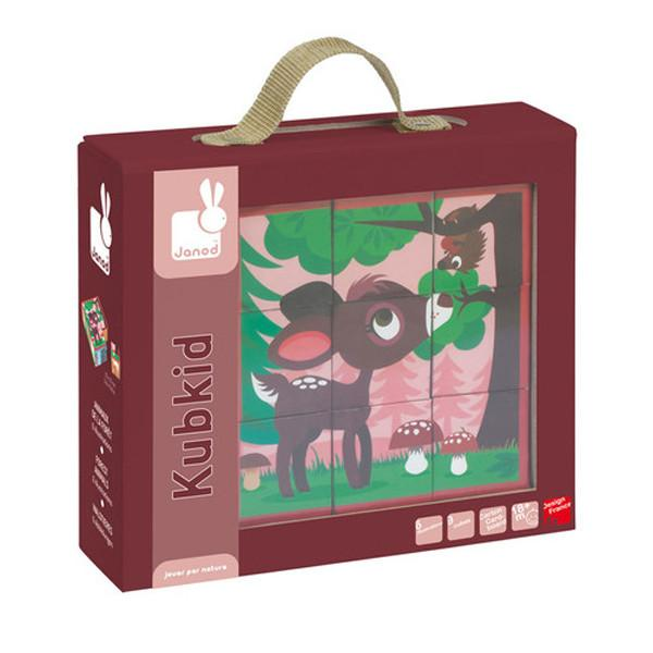 Kubkid 9 Blocks Forest Animals
