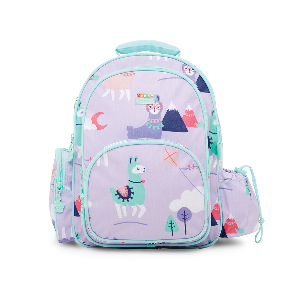 Penny Scallan Large Backpack Loopy Llama