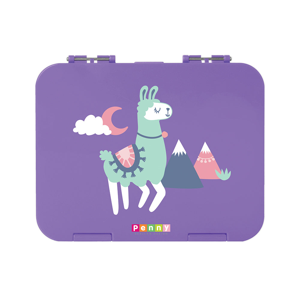 Penny Scallan Large Bento Box Loopy Llama