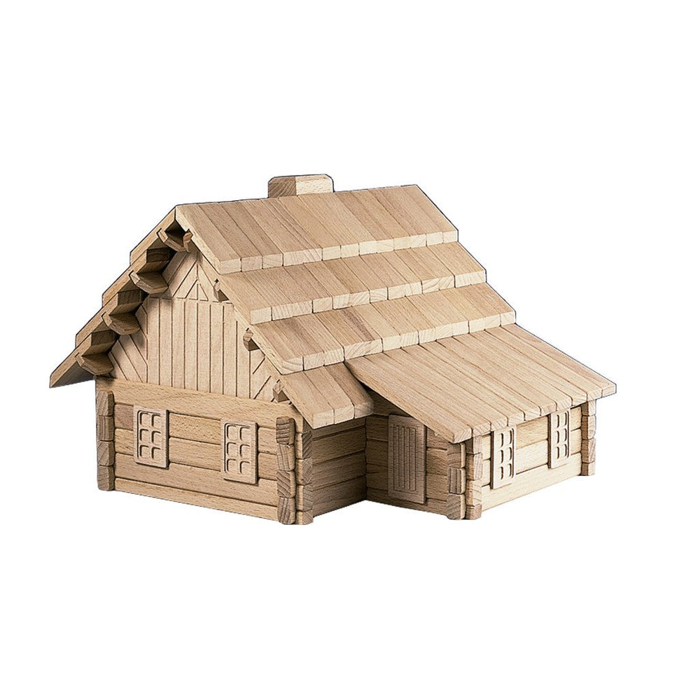 Wooden Building Puzzle The Lodge