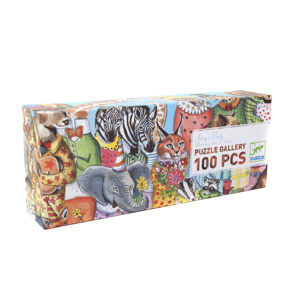 King's Party 100 Piece Puzzle