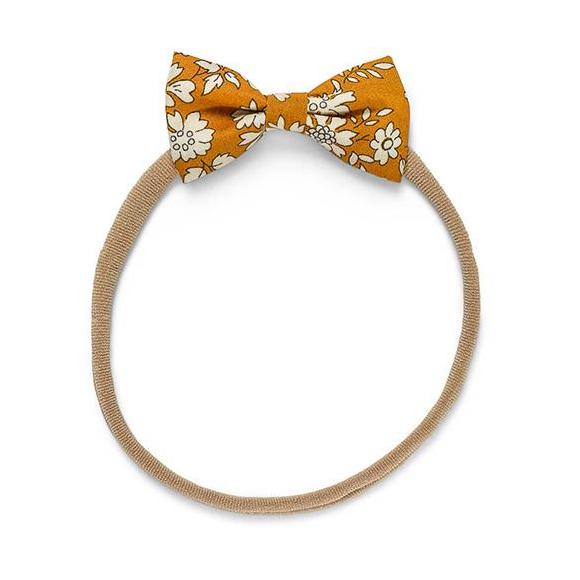 Minnie Baby Elastic with Bow Capel Mustard