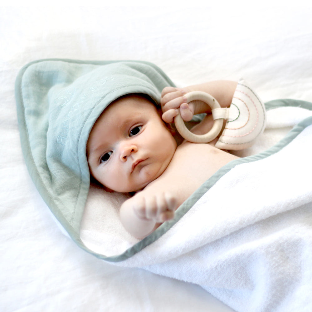 Burrow & Be Baby Hooded Towel Mist