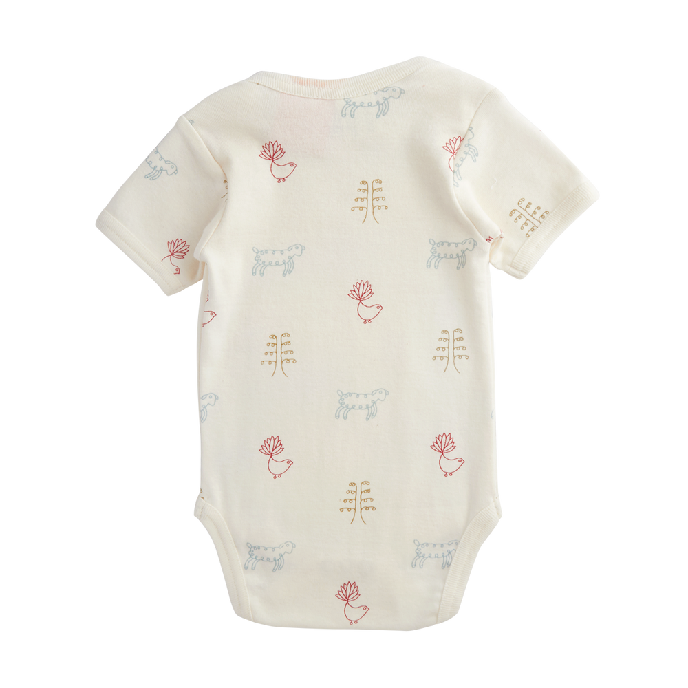 Nature Baby Short Sleeve Bodysuit Nature Baby Print