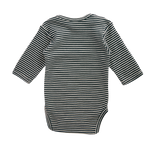 Nature Baby Long Sleeve Bodysuit Navy Stripe