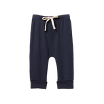 Nature Baby Drawstring Pants Navy