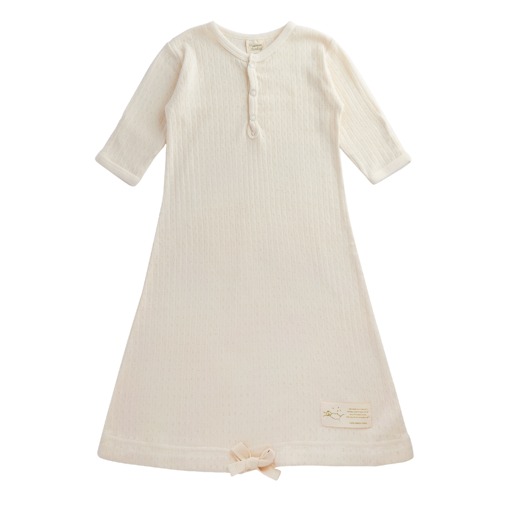 Nature Baby Sleeping Gown Pointelle