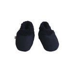 Nature Baby Lambskin Booties Navy