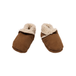 Nature Baby Lambskin Booties Cinnamon