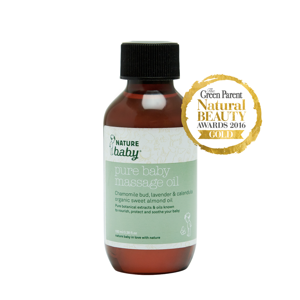 Nature Baby Pure Baby Massage Oil